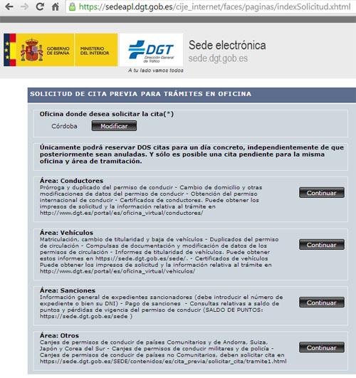 sede-electronica-cita-dgt-cordoba