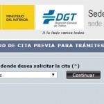 Cita Previa DGT Cáceres