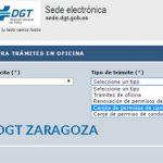 Cita Previa DGT Zaragoza