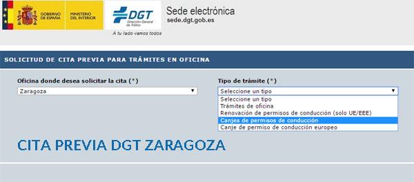 Cita previa dgt zaragoza cita tr fico dgt 2018 for Oficina trafico zaragoza